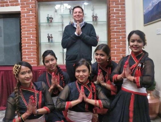 Tero Aittokallio in Nepal