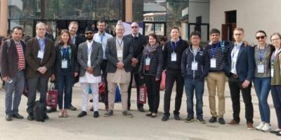 ICCB conference delegation