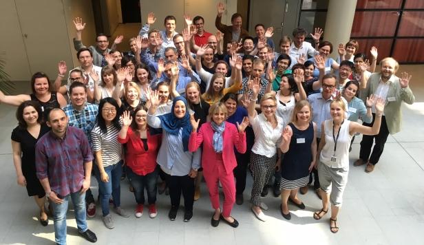 Group photo of HERCULES consortium members